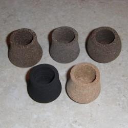 Previsión de goma y casquillos EVA Butt