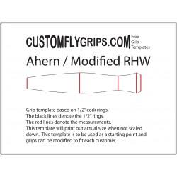 Ahern / modifierad omvänd Half Wells Gratis grepp mall