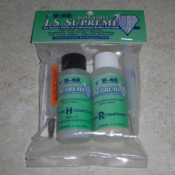 Final de LS Suprema U-40 brillo Dura con jeringas