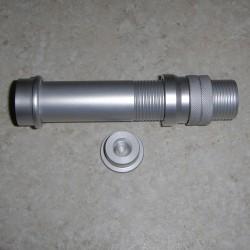 Gunmetal alumínio voar Reel Seat WT 6-9