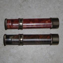 Inserto a legna volare porta mulinello in alluminio canna di fucile 3-6 WT