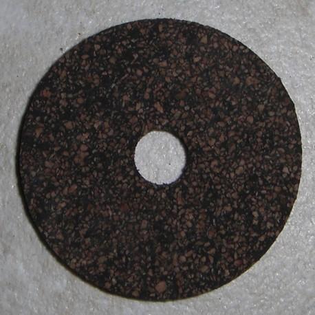 """Gummierte Cork Ringe 1/4"""" mit 1/4"""" Mittelloch"""