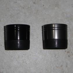 Alpen-Dual eloxiertem Aluminium Verschlußkappe