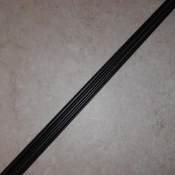 Rainshadow RX6 grafito 2 pedazo mosca de la barra en blanco