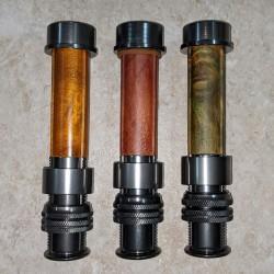 매트 건 메탈 알루미늄 나무 또는 탄소 삽입 플라이 릴 좌석 3-6 WT