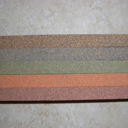 """Premium Burl Cork Strips 0.5"""" x 2"""" x 12"""""""