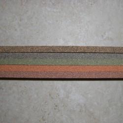 """Premium Burl Cork Strips 0.25"""" x 2"""" x 12"""""""