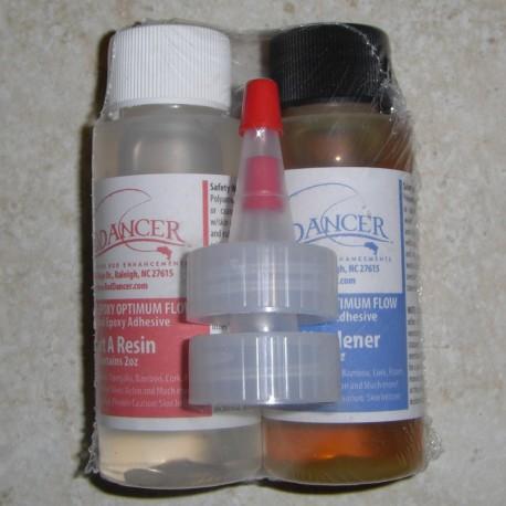 4 0z. Optimaalisen virtauksen epoksi - hidas Cure