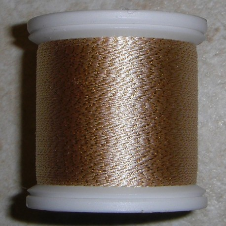 Silver 224 FishHawk 3/0 Silk Sparkle Thread (100 meter spools)