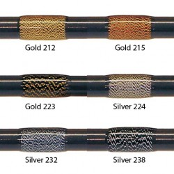 Zilver 224 FishHawk 3/0 Silk Sparkle Thread (100 meter spoelen)
