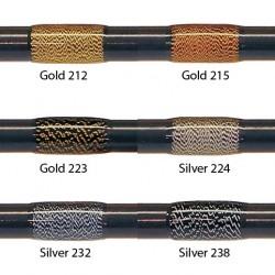 FishHawk 3/0 silke gnistre tråd (100 meter spoler)