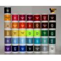 Färg bevarade nylontråd