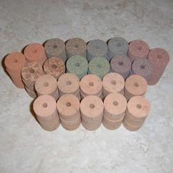 Natürliche & Premium-Burl Cork 140 Stück Sortiment Kit