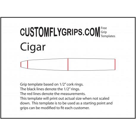 Cigar Free Grip Template
