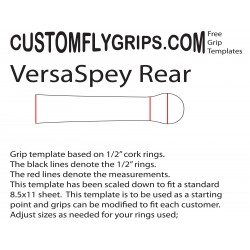 Rear VersaSpey Free Grip Template