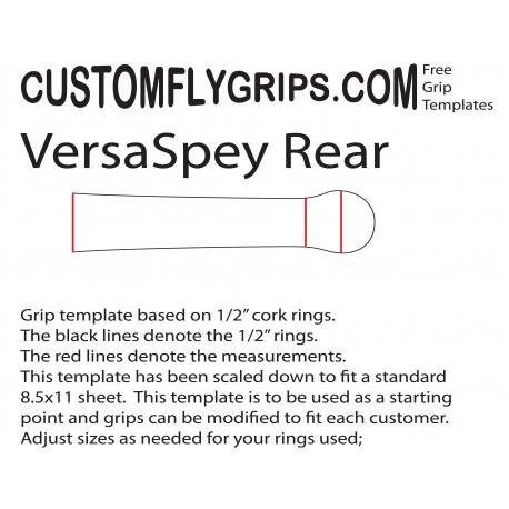 Modèle de poignée libre VersaSpey arrière