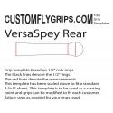 Spey / chuyển đổi Grip Templates