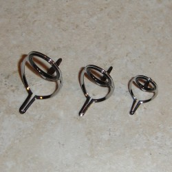 Silver Single Foot Fly Guides