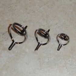 Двухместный ног Хром зачистки / кастинг гиды