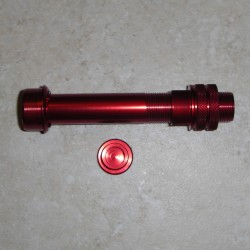 Red Anodized Aluminum Fly Reel Seat
