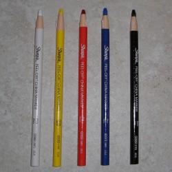 Décollez de crayon de cire pour le marqueur Chine