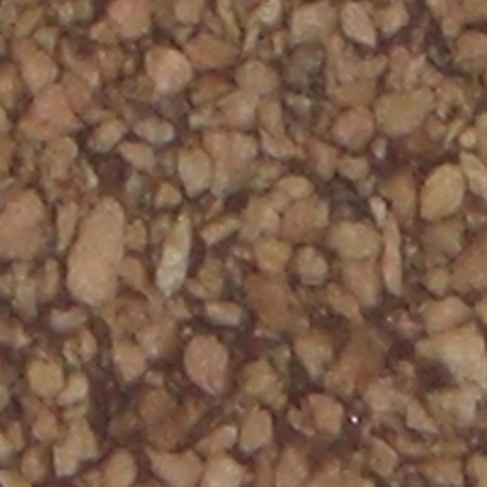Grano grande marrón goma