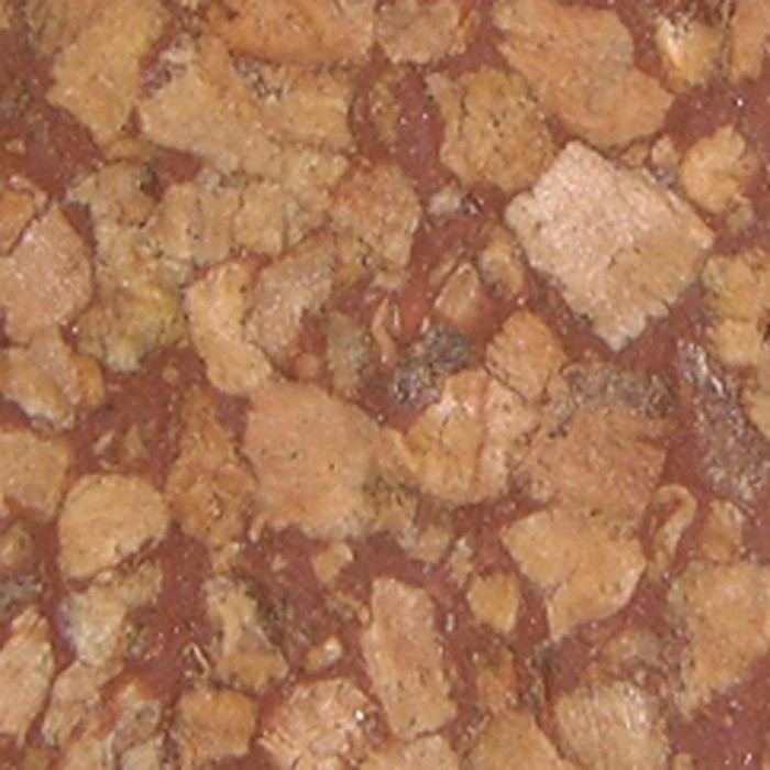 Red Large Grain Rubberized
